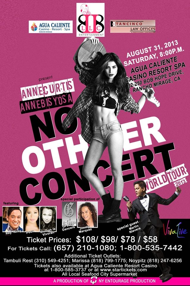 Annebisyosa No Other Concert World Tour 2013 - Palm Springs,USA